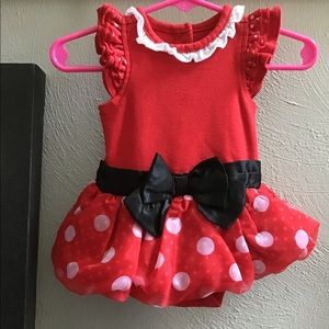 Disney Minnie Mouse Baby Girl outfit